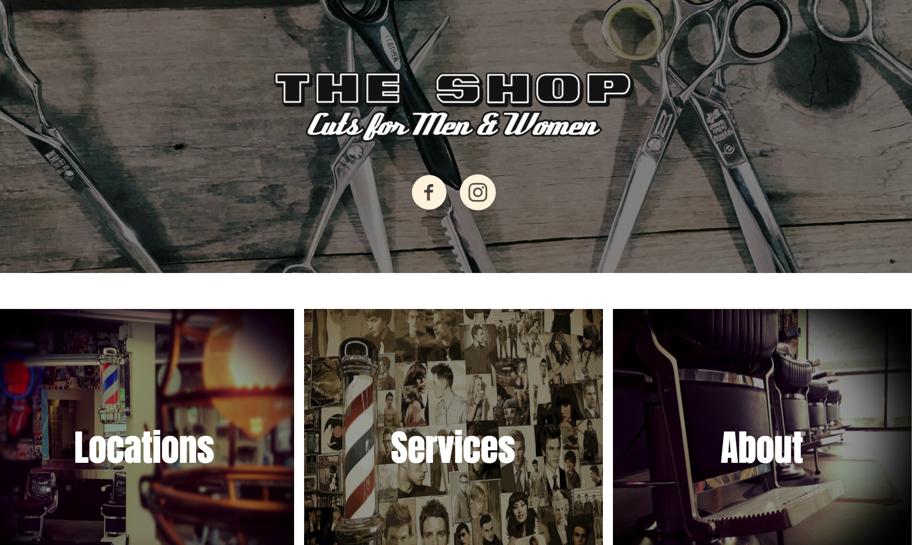 The Shop Cuts For Men Women Old School Barber Shop